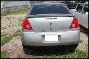 2007 Pontiac G6 - Back View